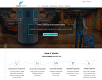 Luggage Transfer Web UI Kit | App Innovation