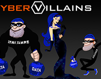 Cyber Villians - Adobe Character Animator Puppets