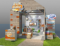 Rich-Bake Food Africa Booth @ Mental Flame