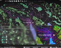 SBB CFF FFS Hologram UI/HUD Design