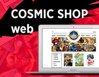 COSMIC SHOP web site