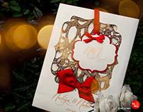 Wedding Invite Design for Nadiya & Nabil