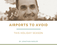Tips for Holiday Travel