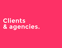 Agencies and brands I've worked with