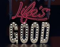 Smile, Life's good!!