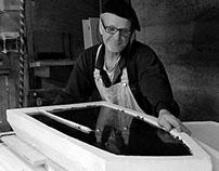 Cast glass sculpture studio in Australia