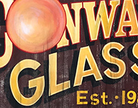 Conway Glass Exterior Sign