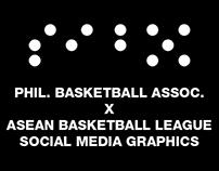 PBA X ABL Social Media Graphics | Personal Project
