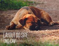 Website - ONG Clube amigo vira lata ( CAV )