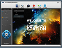 synology monitor system GUI