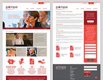 Australian Pompe Association Web Design & Stationary