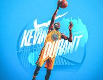 Nike Poster/Shirt Design | Kevin Durant 2018