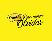 Post It // Para Nunca Olvidar // Advertising