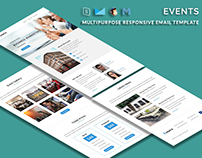 Events - Multipurpose Responsive Email Template