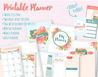 Printable planner.