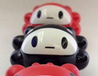3″ QiQi Vinyl Toys - 2012