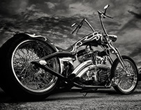 Custom Cycles in black & white