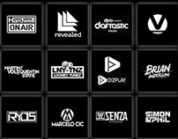 EDM Logo designs