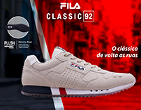 WINDOW DISPLAY FILA CLASSIC 92