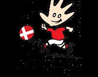 EM i døvefodbold logo