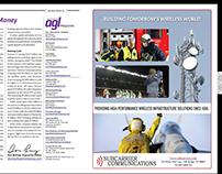 Ads - Wireless Infrastructure - DESIGN + COPYWRITING
