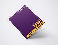 Modern Brochure Design for Hotel Guests