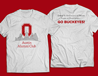 Shirts for the Austin Alumni Group for Ohio State