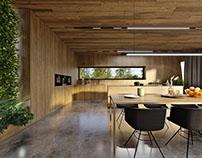 Oak-covered house / 342m² / Poland