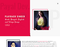 Payal Dev - Bollywood Playback Singer