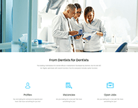 Dentists web design