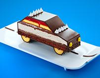 Car cake - Sicuro&Garantito Ad