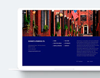 Schmidt & Federico. Web design.