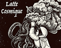 Cover artwork for Latte Cosmique by Yugort