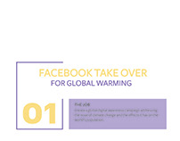 DIGITAL AWARENESS CAMPAIGN- Global Warming