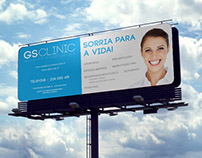 GS CLINIC (Outdoor Publicitário + Flyer)