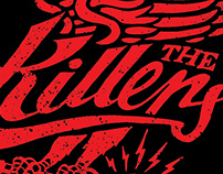 The Killers • Official Sam's Town T Shirt Design