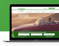 Linear website