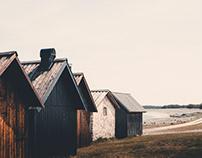 Cabins & Limestone - Sweden