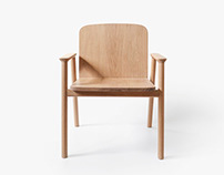 CO_01​​​​​​​ armchair design