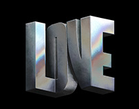 Love - Typography Experiments