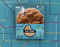 Embalagem The Tube Cookies