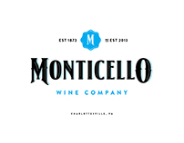 Monticello Wine Company Branding and Packaging