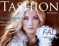Tashion (Teen Fashion) magazine cover