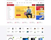 Antomi - Electronics eCommerce HTML Template