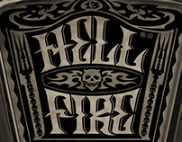 HELL FIRE + Packaging