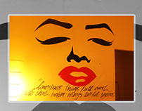 Merilyn / For a special person/ Mural