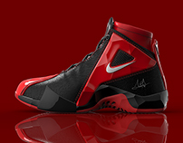 Scottie Pippen Nike Shoe