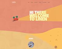 Linen Studio Website