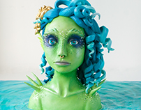 Water Nixie Cake for Sweet Fairy Tales Collaboration