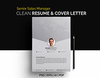 Senior marketing manager resume/ CV